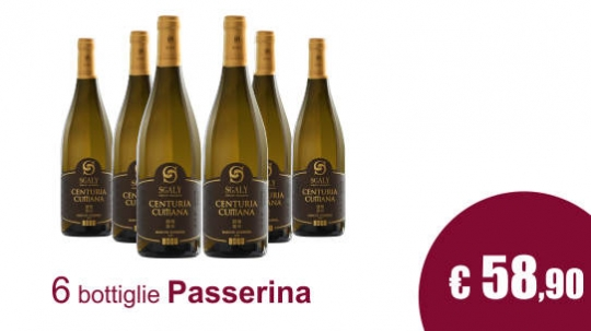 Passerina white wine